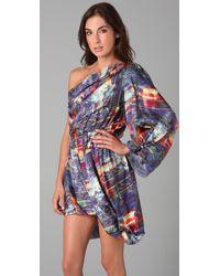 Acne Studios - Blue Dina Ishtar Paw11 Dress - Lyst