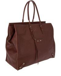 Balenciaga Brown Paper A3 Bag