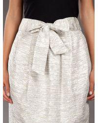 By Malene Birger Metallic Tulip Skirt