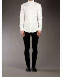 Dolce & Gabbana White Brad Shirt for men
