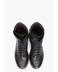 DIESEL - Black Cassidy Boots for Men - Lyst