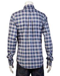 Gant Blue The Hugger Shirt for men