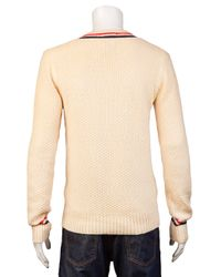 GANT Natural Its All Cricket Sweater for men