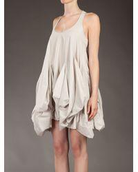 Hache White Parachute Dress