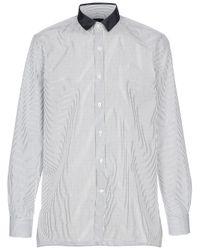 Lanvin | White Long Sleeved Shirt for Men | Lyst