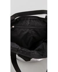LeSportsac Black Sequin Heart Medium Shopper