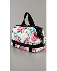 LeSportsac Multicolor Joyrich Rose Heart Leigh Tote