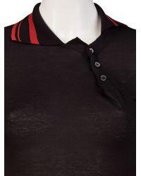 Vivienne Westwood Anglomania Black Orgy Polo Mini Dress