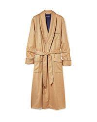 Derek Rose | Pink Cashmere Dressing Gown for Men | Lyst