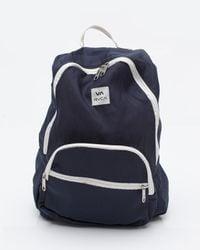 RVCA | Blue Nine Backpack for Men | Lyst