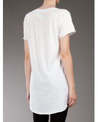 Zoe Karssen White Skull T-shirt