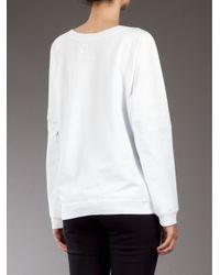 Zoe Karssen White Young Americans Sweatshirt