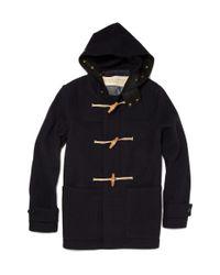 Burberry Brit Blue Mariner Wool-blend Duffle Coat for men