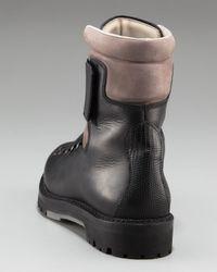 Lanvin - Black Mountain Boot for Men - Lyst