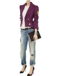 Sara Berman Pink Woody Ringmaster Harris Tweed Jacket