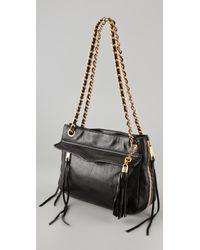 Rebecca Minkoff   Black Swing Shoulder Bag   Lyst