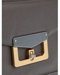 Marc By Marc Jacobs Gray Bianca Hayley Tote