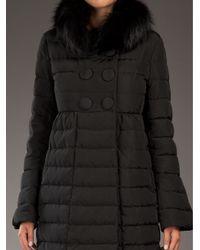 Moncler Black Johafur Padded Coat
