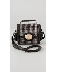 See By Chloé - Carmen Mini Camera Bag in Black/nude - Lyst