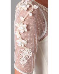 Temperley London - White Rose Dress - Lyst