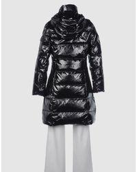 Tosca Blu   Black Down Jacket   Lyst