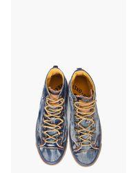 DIESEL - Blue Exposure I Sneakers for Men - Lyst