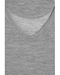 Duffy Gray Fine-knit Cashmere Sweater