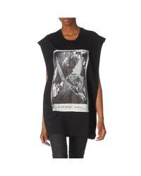 Givenchy Black Angel Print Tshirt