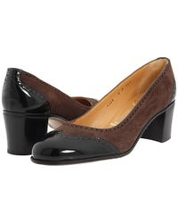 Gravati - Brown Low heel pumps - Lyst