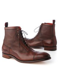 Jeffery West Marriott Lace–up Boots Brown for men