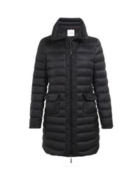 Moncler Black Gouet Quilted Coat