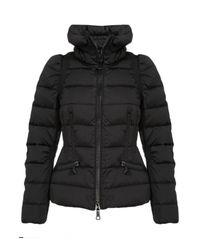 Moncler | Black Pensee Quilted Jacket | Lyst