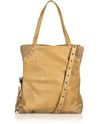 Sara Berman Brown Cici Three-way Leather Bag