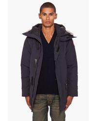 Canada Goose - Blue Langford Parka City Coat for Men - Lyst