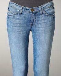 Current/Elliott - Blue Stiletto Canteen Skinny Jeans - Lyst