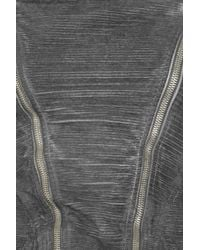 DRKSHDW by Rick Owens Gray Cotton-corduroy Jacket