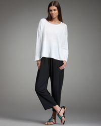 Eskandar | Black Japanese Trousers | Lyst