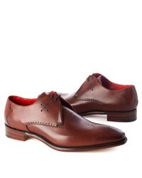 Jeffery West Otoole Gibson Lace–up Shoes Brown for men
