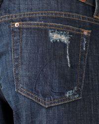 Joe's Jeans Blue Best Friend Eddie Slouchy Roll-up Jeans