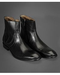 John Varvatos Black Richard Dress Boot for men