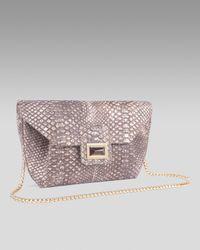 Kara Ross | Metallic Necia Chain-strap Shoulder Bag | Lyst