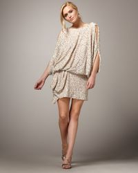 Mandalay | Natural Confetti Tunic Dress | Lyst