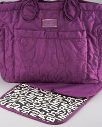 Marc By Marc Jacobs | Purple Pretty Nylon Eliza Baby Bag | Lyst