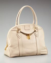 Marc Jacobs - Natural Abbey Bowler Satchel - Lyst
