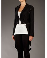 McQ Multicolor Multi-way Tailcoat
