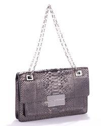 Michael Kors | Purple Quinn Rectangular Shoulder Bag, Anthracite | Lyst