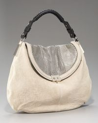 Pauric Sweeney | White Carbon Python Hobo | Lyst