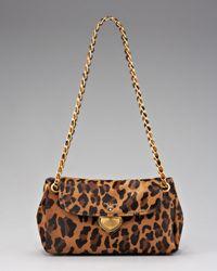 Prada | Multicolor Cavallino Leopard-print Hair Calf Chain Bag | Lyst