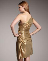 Robert Rodriguez - Natashi One-shoulder Metallic Dress - Lyst