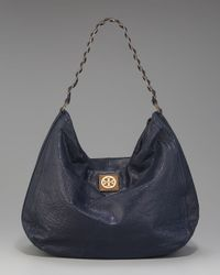 Tory Burch | Blue Louisa Chain-strap Hobo | Lyst